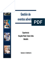 Gestion de Eventos Adversos