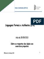 LFA Aula06 Exercicios