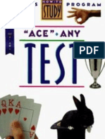 ACE ANY TEST  -  Ron Fry 