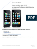 Manual Detallado de Desarme Del iPhone Apple 3G-GS. Repuestos Para iPhone 3G-GS. Cambio de Pantalla y Bateria de iPhone 3G-GS.