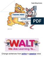 active  passive voice pp slides pupils 1