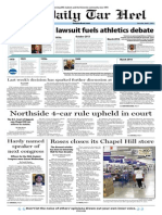 The Daily Tar Heel for April 3, 2014