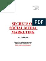 Secrets of Social Media Marketing-Book Report (1)