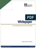PeopleSoft Testing Accelerator Kit - Hexaware