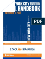 New York marathon guide 2009