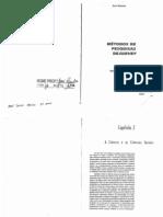 BABBIE, Earl. Métodos de Pesquisa Survey – Capítul 2 – A Ciência e as Ciências Sociais
