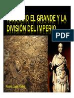 Unidad 9 Teodosio y la división del Imperio - Andrés Lagos
