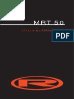 MRT 50 (ENGLISH) Workshop Manual