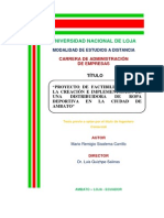 Proyecto Factibilidad Uniformes Deportivos