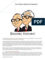 8 Things I Learned From Warren Buffett This Weekend