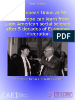What Europe can learn from Latin American social science after 5 decades of European integration