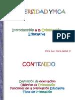 1. ORIENTACIÓN EDUCATIVA