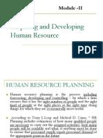Module-II-Acquiring and Developing Human Resource
