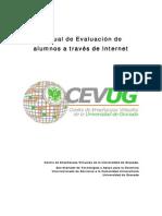 Manual de evaluacion a través de internet