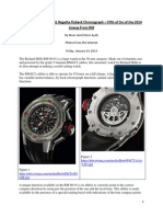 Richard Mille RM 60-01 Regatta Flyback Chronograph – Fifth of Six of the 2014 Lineup From RM
