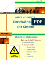 IGC2 Elem 4 (Electrical Hazards and Controls)