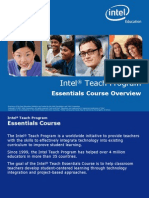 Intel Teach Essentials Course Overview