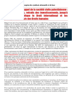 2014 - 3 - 16 - Soutien Palestine BDS