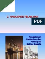 2- 14 Feb Manajemen_Pelabuhan