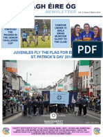 Nenagh Eire Og March Newsletter