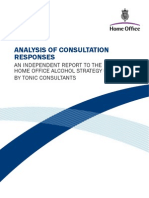 Home Office Licensing Consultation Response Analysis 1