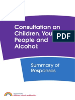 TONIC DfE Consultation Analysis