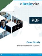 Mobile Based Online TV Guide
