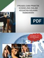 Proses Dan Praktik Konseling Ppt