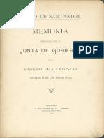 Memoria Presentada Por La Junta de Gobierno a La General de Accionistas Celebrada El Dia 14 de Febrero de 1914 0