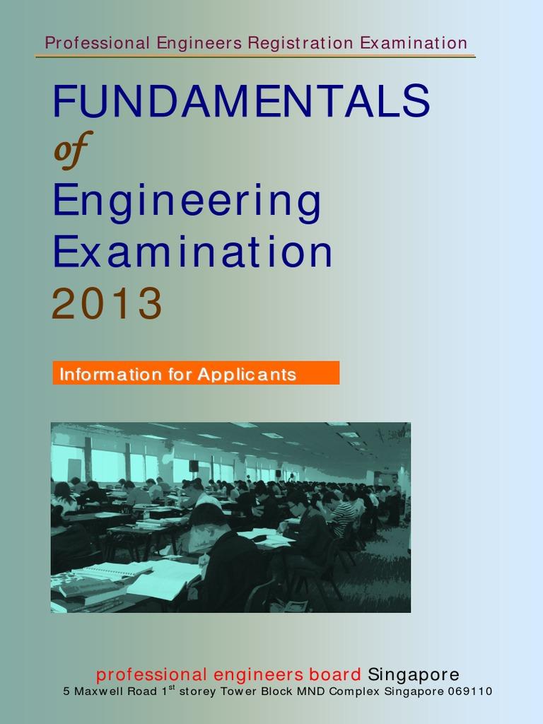 fundamentals of engineering examination bending stress mechanics