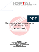 Maintenance and service manual for 