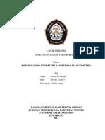 laporan resmi redoks