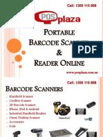 Portable Barcode Scanner and Reader Online