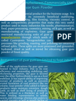 Guar Gum Manufacturers Commercially Use Guar Gum Powder at hrdgums