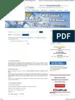 Pembuatan Alat Penyaringan Air Sederhana - Tim KKN UPI Kampus Tasikmalaya 2012