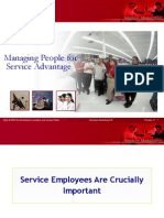 Managing People for Service Advantage