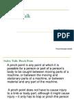 Safety Talk -- Pinch Point