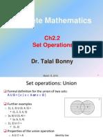 Ch2 2 Set Operations