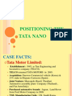 Positioning the Tata Nano