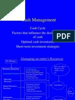 Cash Budget 2014