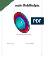 Cyclic Symmetric Modal Analysis