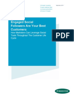 Engaged Social Followers Are Your Best Customers