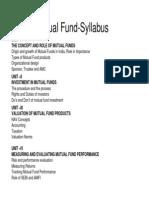 mutual fund......
