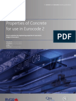 Properties of Concrete for Use in Eurocode 2[1]