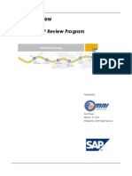SAP Landscape Review Findings Report-120512
