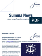 Summa Group News January 2014