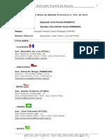 Comissão Mista da Medida Provisória nº 632, de 2013 - Membros