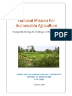 National Mission Sustainable Agriculture_2010