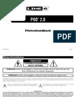 POD 2.0 Pilot's Guide - German ( Rev B )