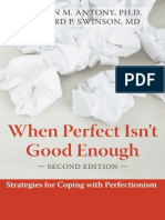 When Perfect Isnt Good Enough Strategies for Copin